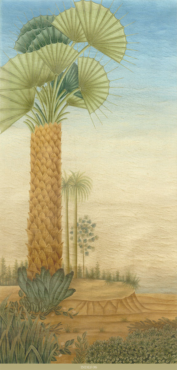 Английские обои Iksel,  коллекция Scenic & Architectural Wallpapers, артикулExoticaINDES06