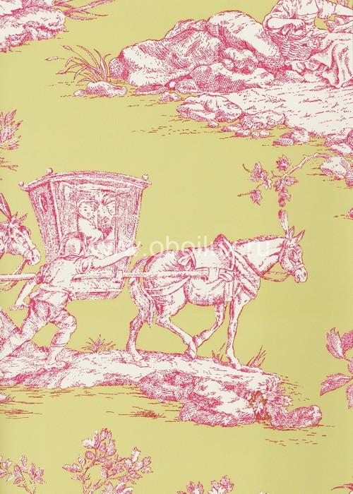 Американские обои York,  коллекция Ashford House - Toiles, артикулAT4120