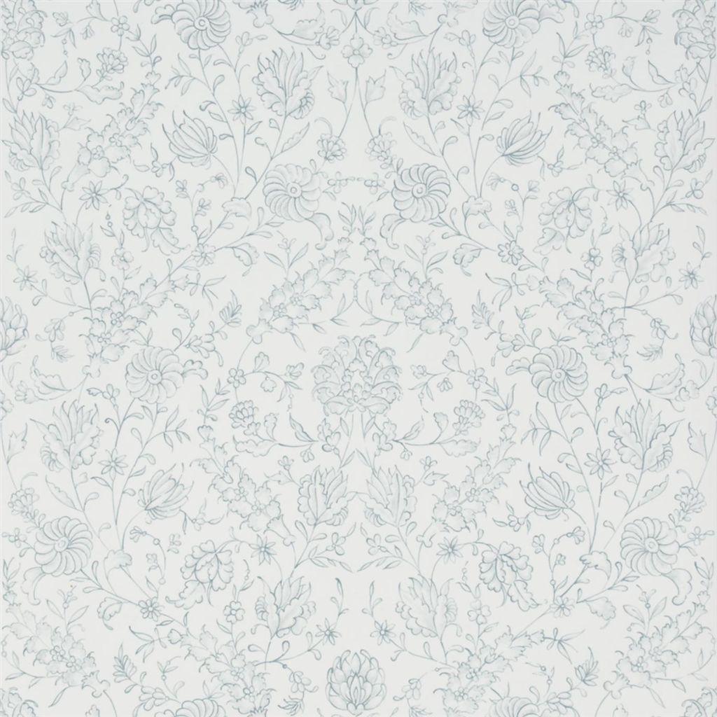 Английские обои Designers guild,  коллекция The Royal Collection - Rosa Chinensis, артикулPQ009/11
