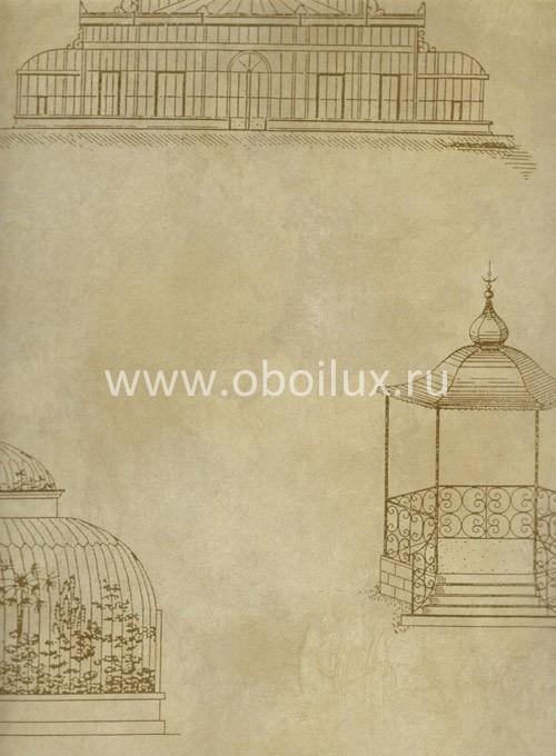 Американские обои York,  коллекция Antonina Vella - Botanica, артикулVB6821