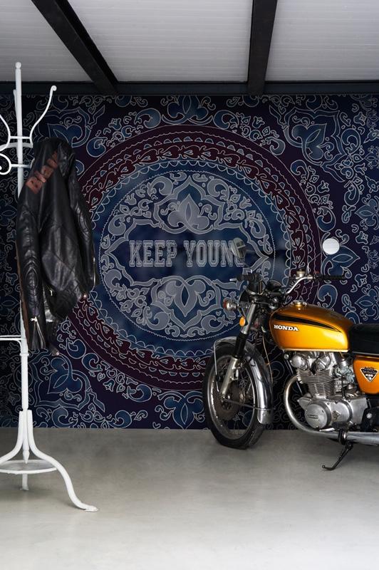 Итальянские обои Wall & deco,  коллекция Big Brand 13, артикулBBKY1301