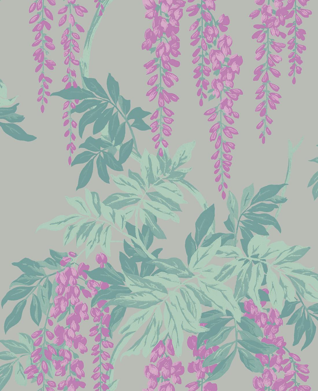 Американские обои Wallquest,  коллекция Watercolor Florals, артикулMF20109