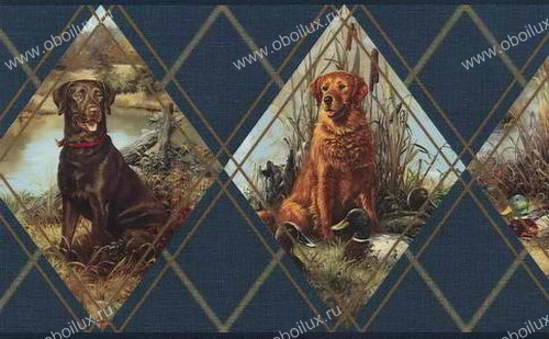 Американские обои Chesapeake,  коллекция Field Guide, артикулFG35584B