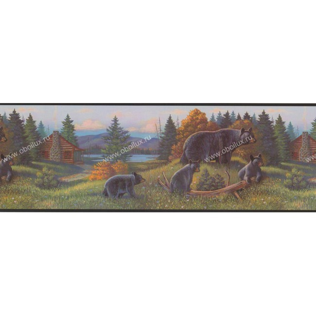 Американские обои York,  коллекция Border Portfolio, артикулWL5627B