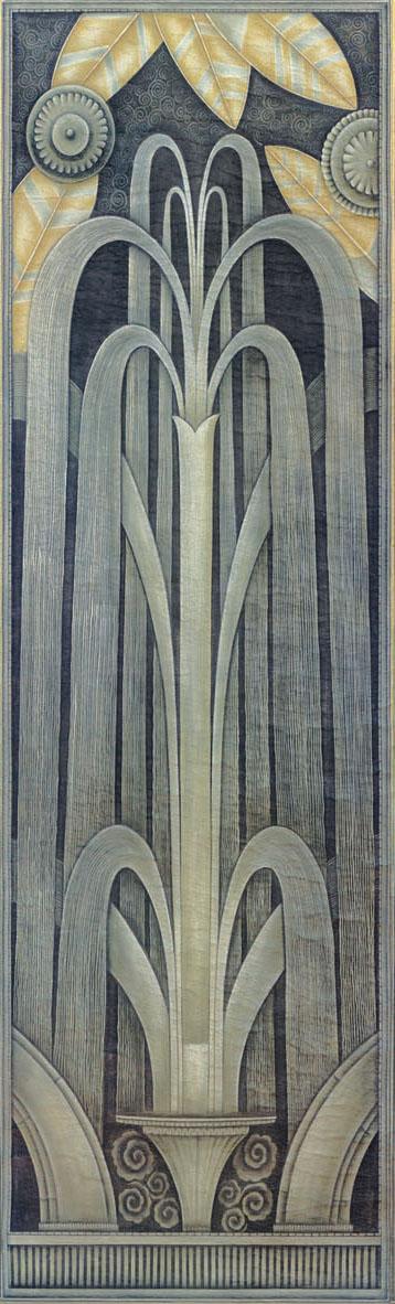 Английские обои Iksel,  коллекция Scenic & Architectural Wallpapers, артикулArtDecoDeco3A
