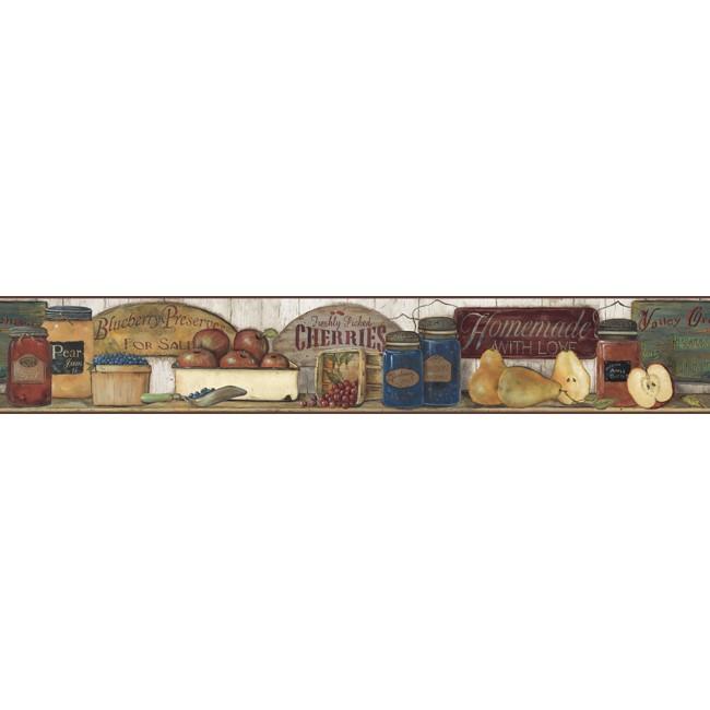 Американские обои York,  коллекция Hearts and Crafts III, артикулCB5515BD