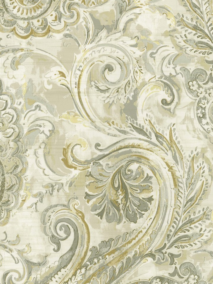 Американские обои Wallquest,  коллекция Villa Flora, артикулVB11008