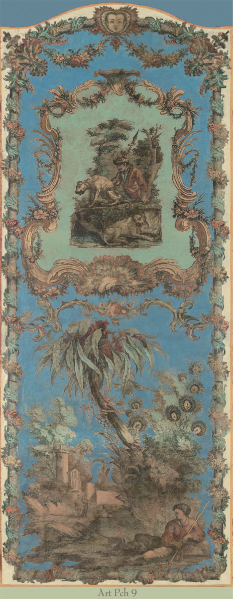 Английские обои Iksel,  коллекция Scenic & Architectural Wallpapers, артикулArtePovereChinoiseresIIARTPCH9