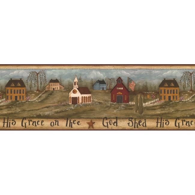 Американские обои York,  коллекция Hearts and Crafts III, артикулFK3944BCB