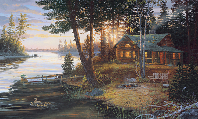 Американские обои York,  коллекция Lake Forest Lodge, артикулLM7972M