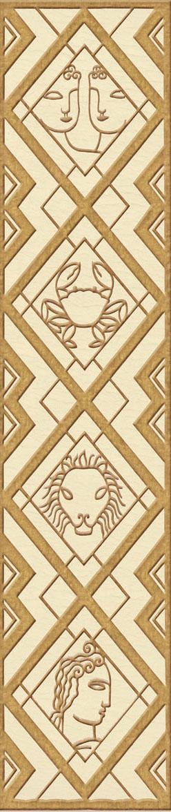 Английские обои Iksel,  коллекция Scenic & Architectural Wallpapers, артикул1940'sDecoDzdc2
