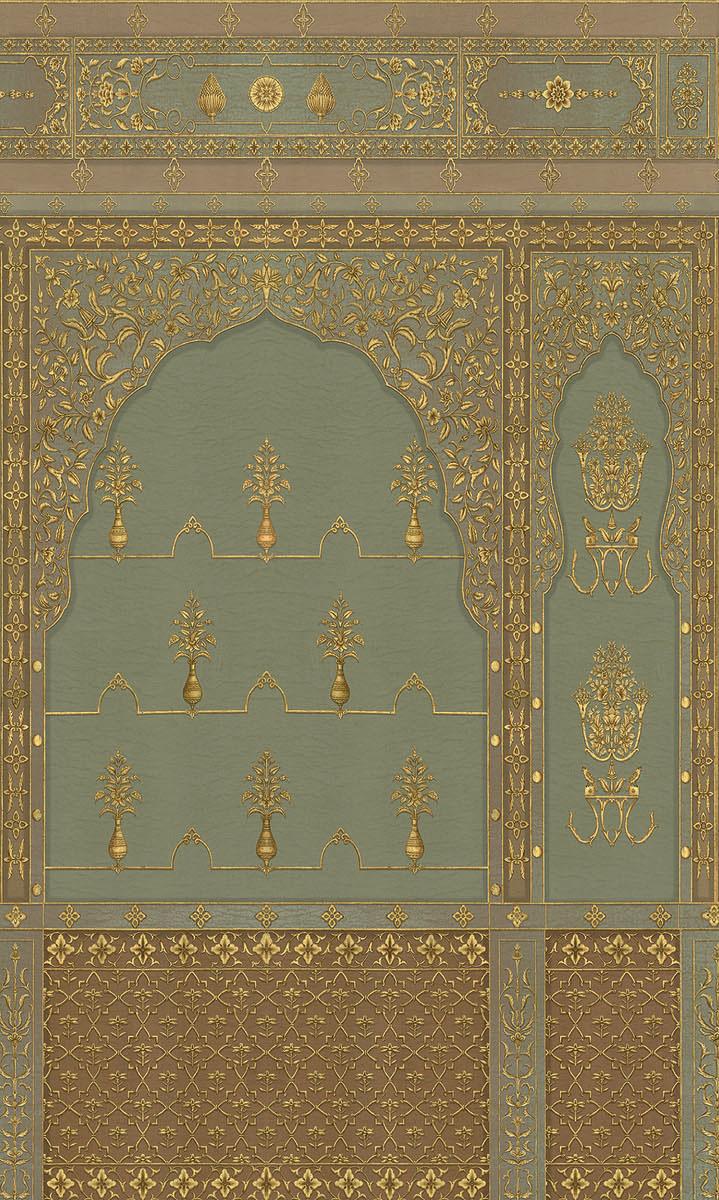 Английские обои Iksel,  коллекция Scenic & Architectural Wallpapers, артикулBikanerBIK1
