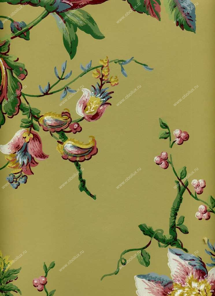 Американские обои York,  коллекция Ashford House - Flowers S.E., артикулDL0603