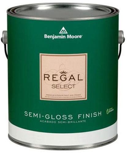 Regal Select 551 Waterborne Interior Paint - Semi-Gloss