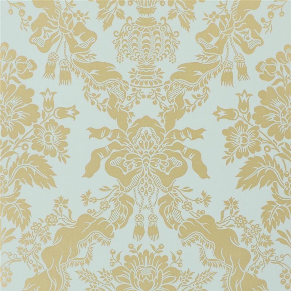 Английские обои Designers guild,  коллекция The Royal Collection - Rosa Chinensis, артикулPQ006/07