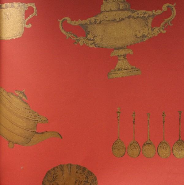 Английские обои Mulberry Home,  коллекция Imperial Wallpaper, артикулFG058V102