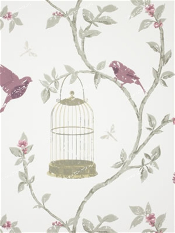 Английские обои Nina Campbell,  коллекция Wallpaper Album III, артикулNCW3770-06