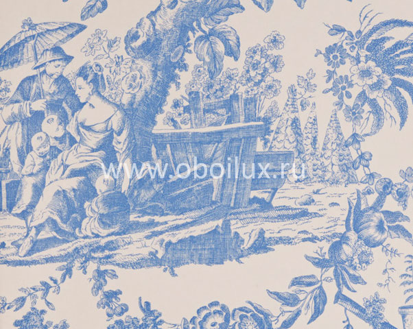 Английские обои Osborne & Little,  коллекция Lorca Imperia, артикулMLW2065-03