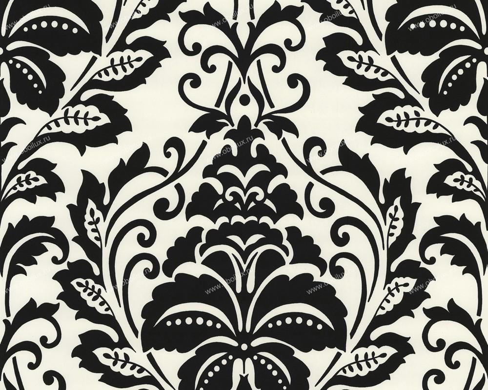 Немецкие обои A. S. Creation,  коллекция Black & White 2, артикул2554-19