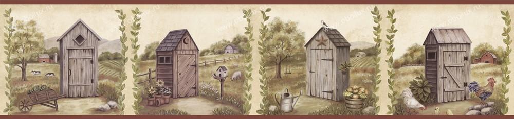Американские обои Chesapeake,  коллекция Pure Country, артикулPUR44552B