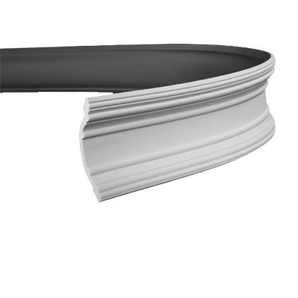 Карниз гибкий из полиуретана 1.50.168F