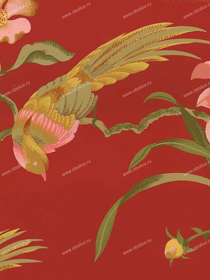 Американские обои Stroheim,  коллекция Color Gallery Crimson, артикул6297E0350