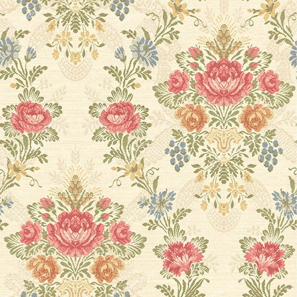Американские обои Wallquest,  коллекция French Tapestry, артикул TS70301