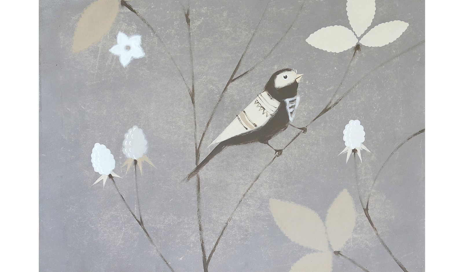 Российские обои Fresq,  коллекция Hand Made Wallpaper, артикулK.K.01