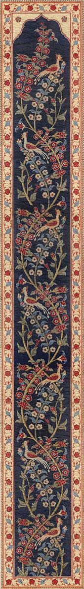 Английские обои Iksel,  коллекция Scenic & Architectural Wallpapers, артикулAleppoBlueALBL02