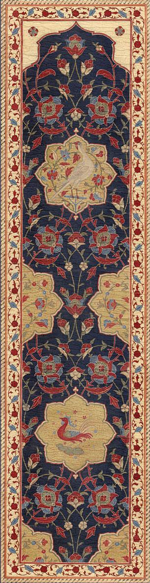 Английские обои Iksel,  коллекция Scenic & Architectural Wallpapers, артикулAleppoBlueALBL07
