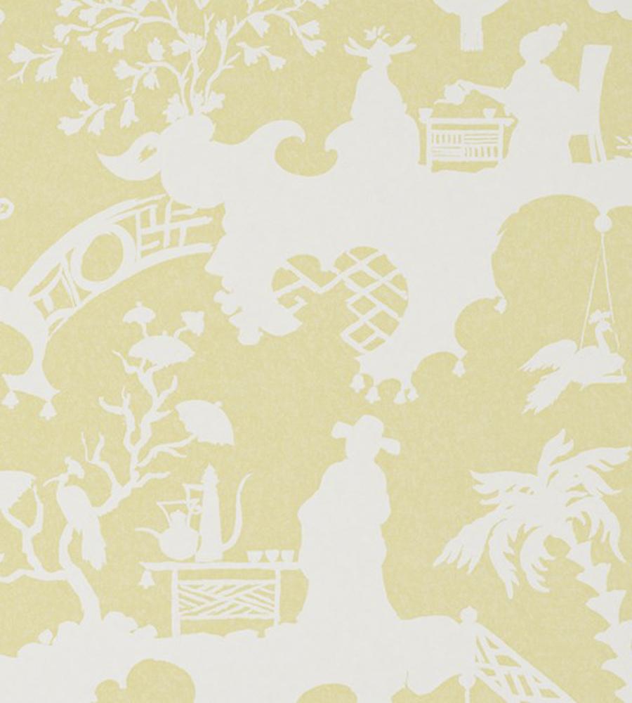 Тайские обои Jim Thompson,  коллекция Pagoda and Palms, артикулWR1010/03