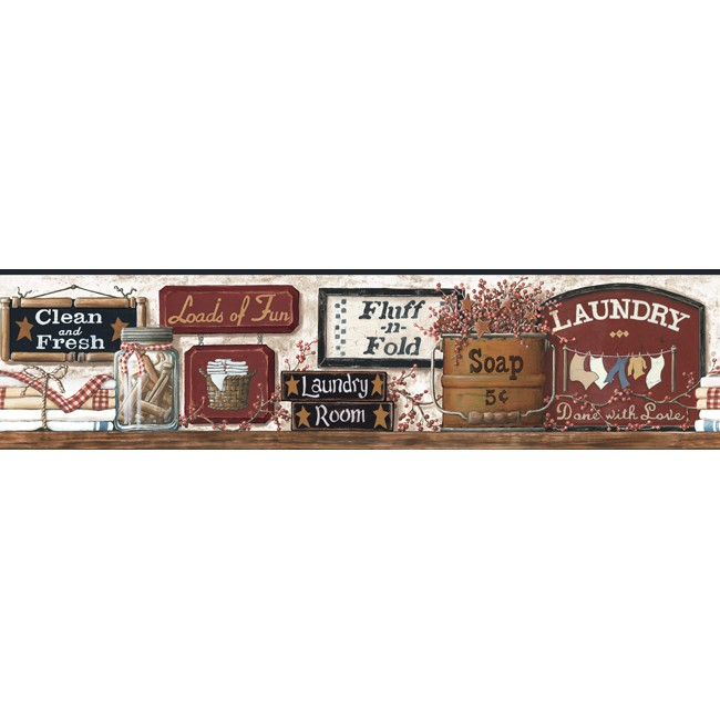 Американские обои York,  коллекция Hearts and Crafts III, артикулCB5512BD