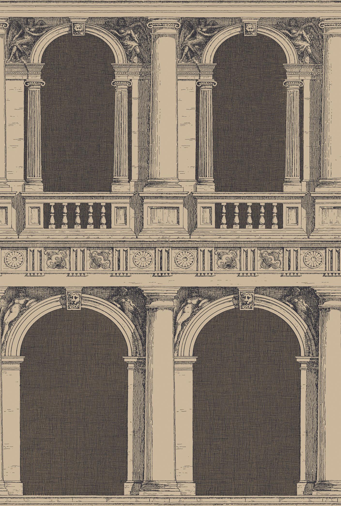 Английские обои Cole & Son,  коллекция Fornasetti II, артикул97/9029