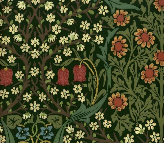 Английские обои Morris & Co,  коллекция Compendium, артикулWM8610/1