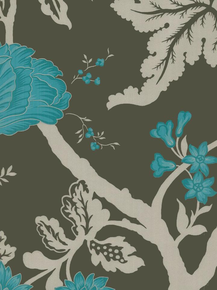 Канадские обои Blue Mountain,  коллекция Shand Kydd, артикулJW105763