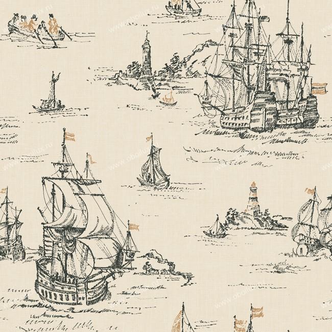 Американские обои York,  коллекция Ronald Redding - Houndstooth, артикулML1242