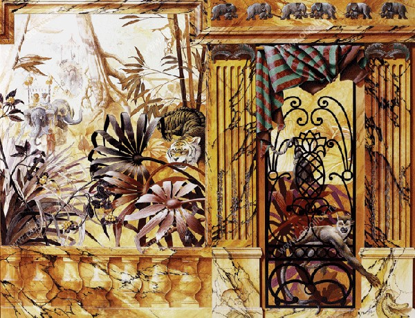 Бельгийские обои Atlas Wallcoverings,  коллекция Raphael 3, артикул1330