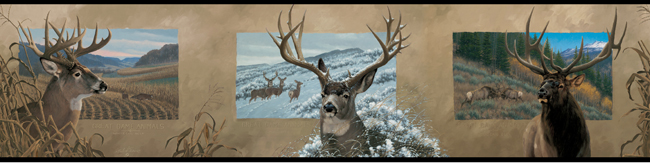 Американские обои York,  коллекция Lake Forest Lodge, артикулLD3340BD