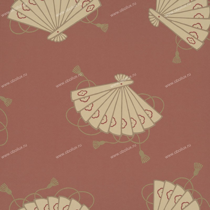 Английские обои Little Greene,  коллекция Oriental Wallpapers, артикул0275SHTUSCA