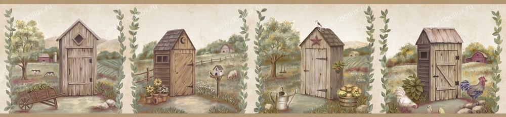 Американские обои Chesapeake,  коллекция Pure Country, артикулPUR44551B