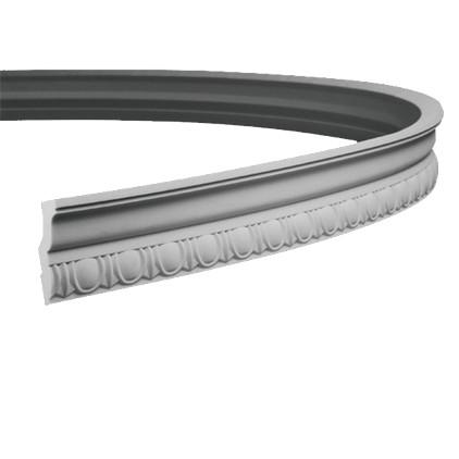 Карниз гибкий из полиуретана 1.50.112F