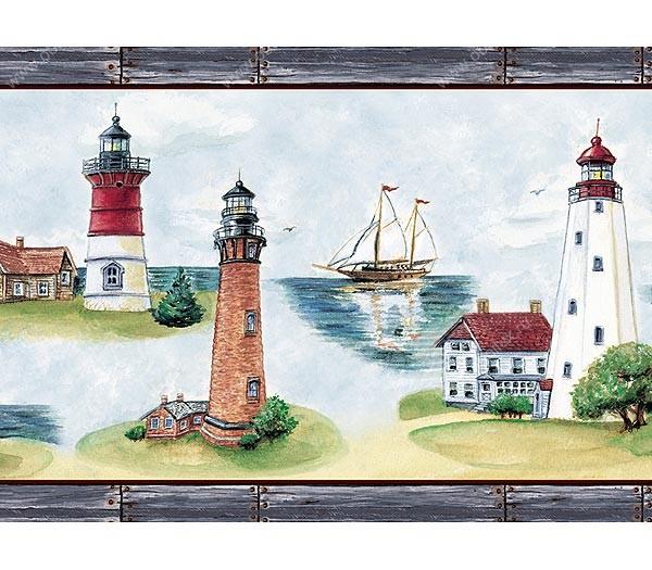 Американские обои Chesapeake,  коллекция Coastal waters, артикулCW80141B