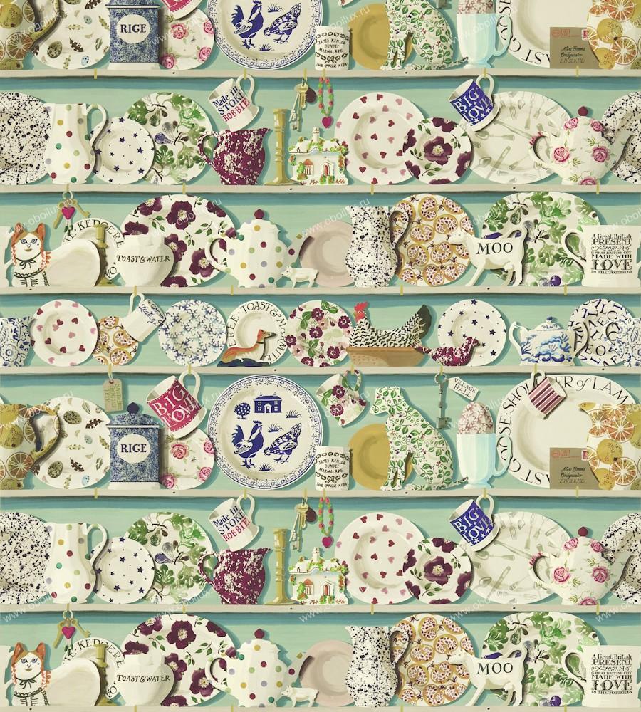 Английские обои Sanderson,  коллекция Emma Bridgewater, артикул213649
