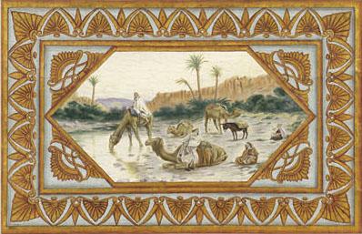 Английские обои Iksel,  коллекция Scenic & Architectural Wallpapers, артикулNeo-ClassicalNEOMED05