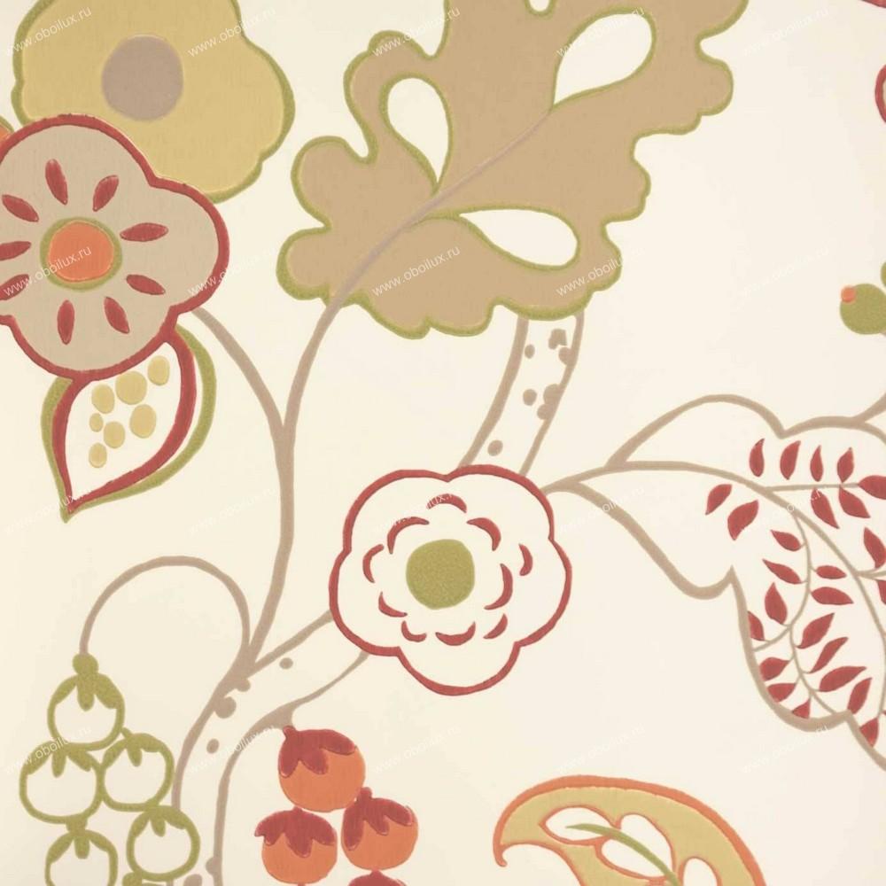Английские обои Clarke & Clarke,  коллекция Wild Garden, артикулW0045-06