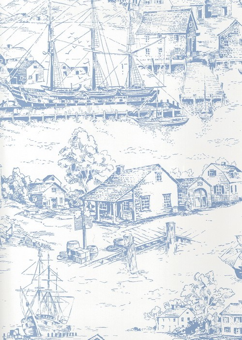 Американские обои York,  коллекция Ashford House - Toiles, артикулAT4137