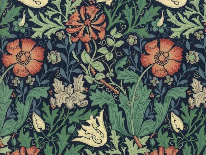 Английские обои Morris & Co,  коллекция Compendium, артикулWR7675/3