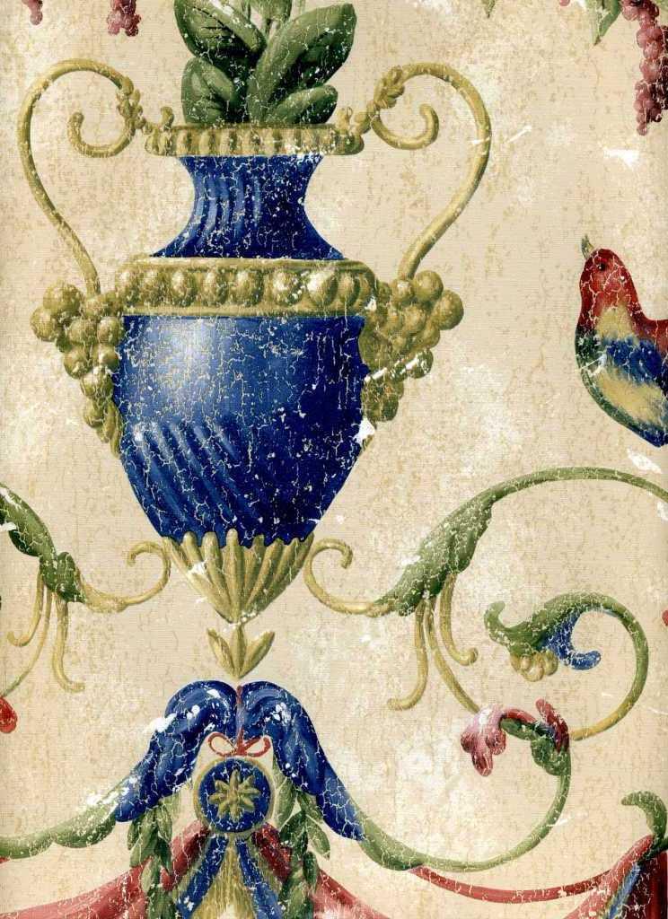 Американские обои York,  коллекция Ashford House - Classics, артикулWU0831