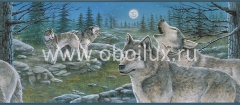 Канадские обои Blue Mountain,  коллекция Aqua, артикулBC1580638b