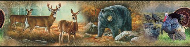 Американские обои York,  коллекция Lake Forest Lodge, артикулRMK1086BCS